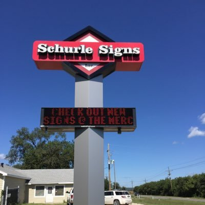 Schurle Signs poll sign