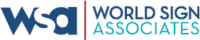 World sign associates logo