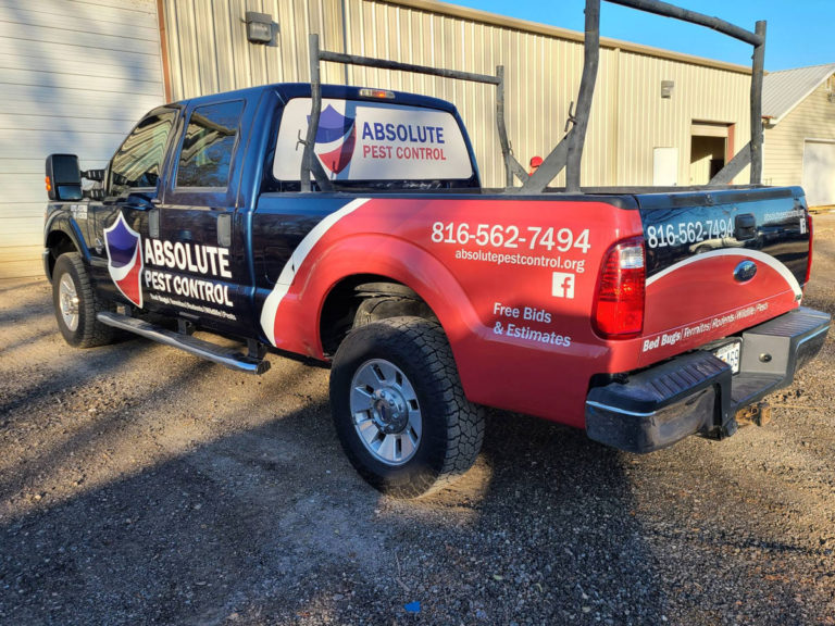 Absolute Pest Control Vehicle Wraps