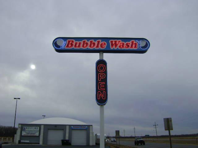 Bubble wash Neon Sign