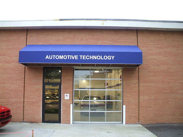 Automotive Technology Awning Sign