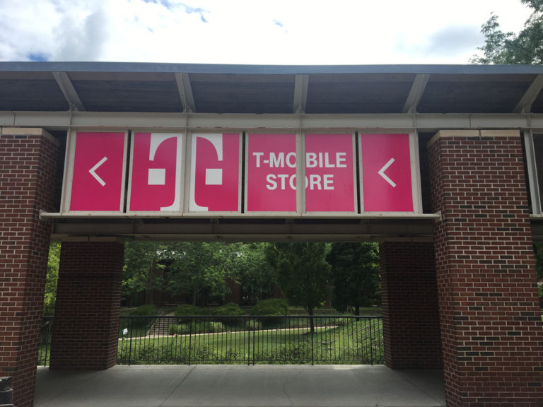 T-mobile Vinyl Graphics