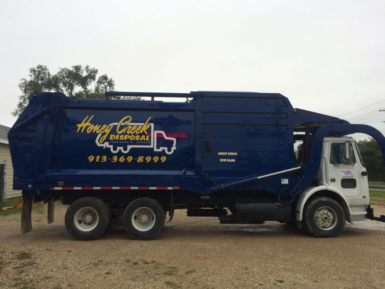 Honey Creek Disposal Vehicle Wraps