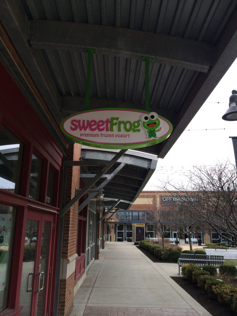 Sweet Frog Non-illuminated