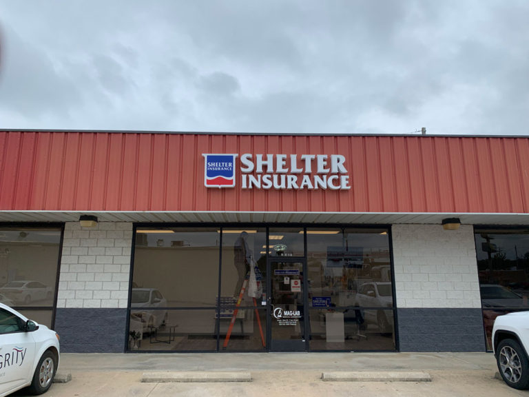 Shelter Insurance Channel Letters