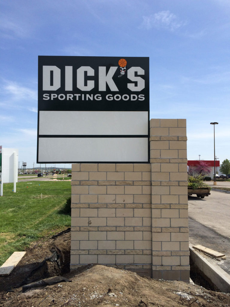 Dick's Pole Signs