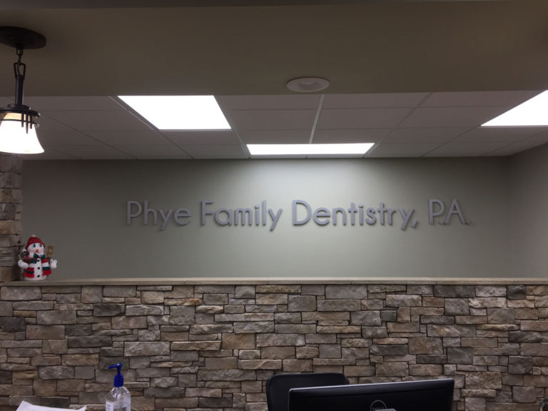 Phye Family Dentistry, PA Non-illuminated