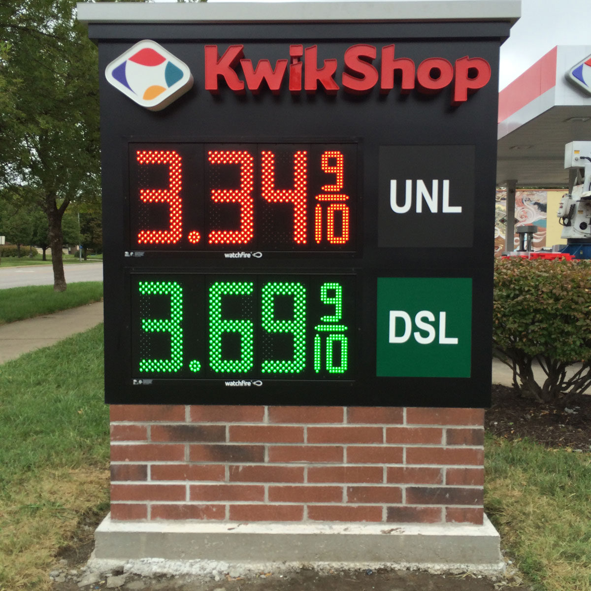 Kwik Shop LED Signs