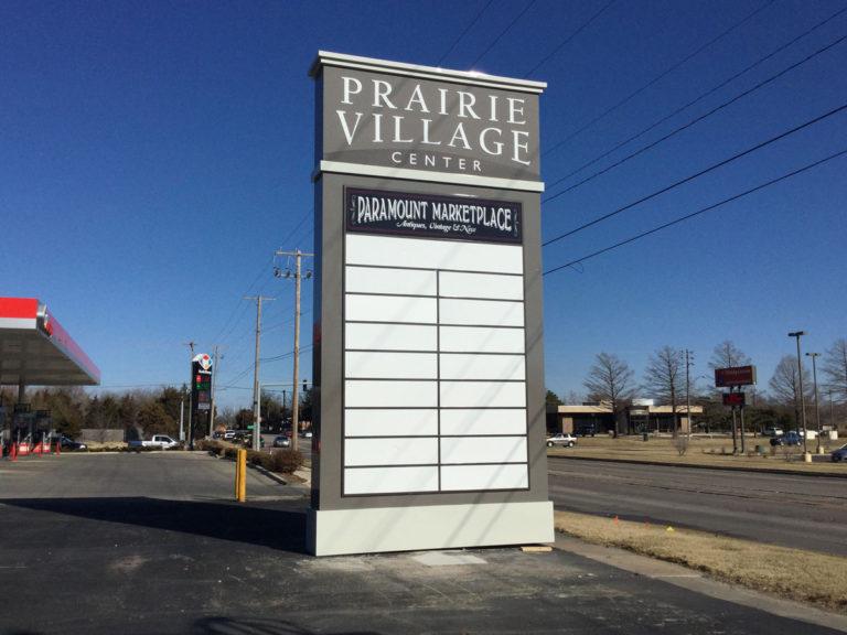 Prairie Village Pole Signs