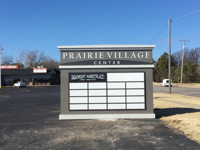 Prairie Village Monument Signs