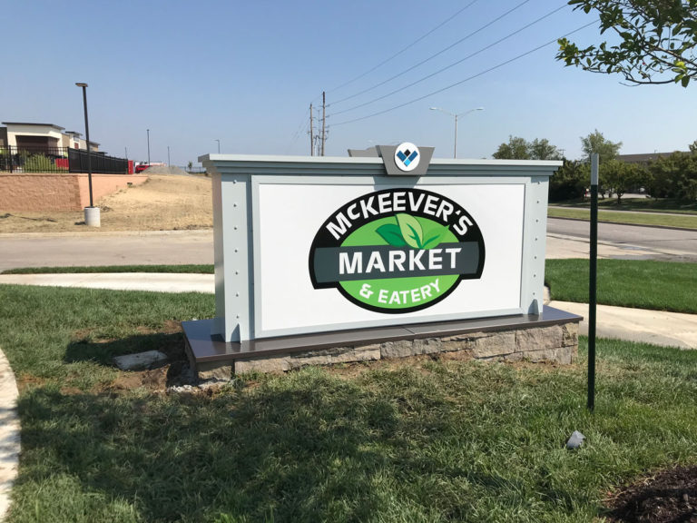 McKeever's Market Monument Signs