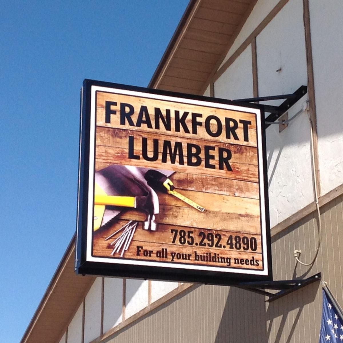 Frankfort Lumber Formed Faces