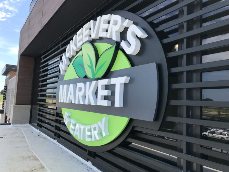 Mckeever's Market Wall Signs