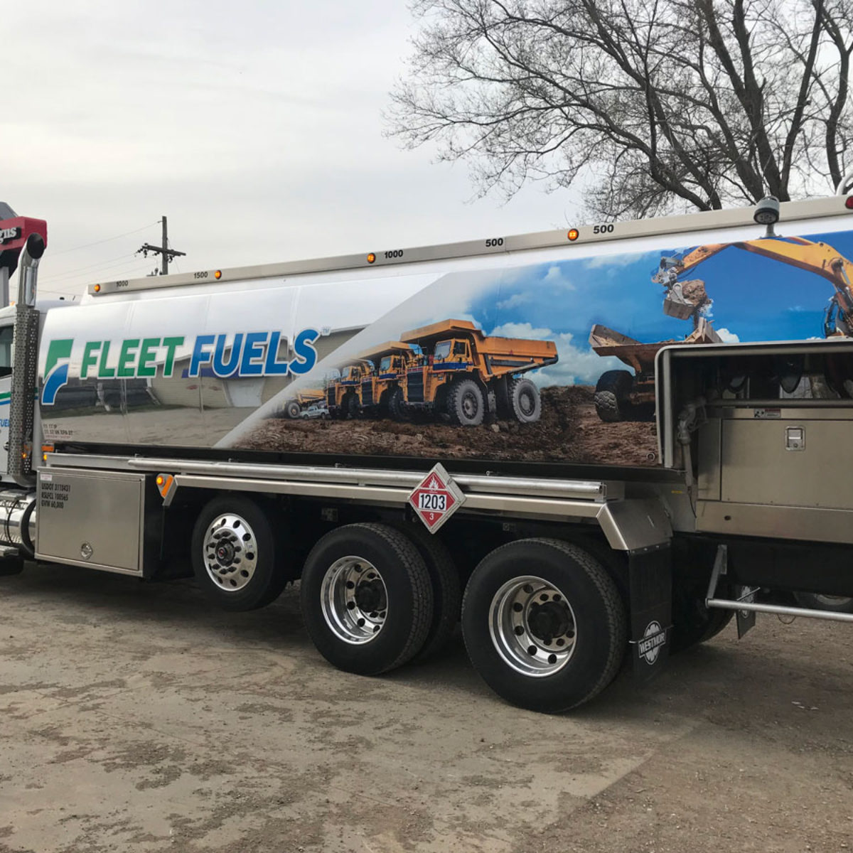 Fleet Fuels Vehicle Wraps