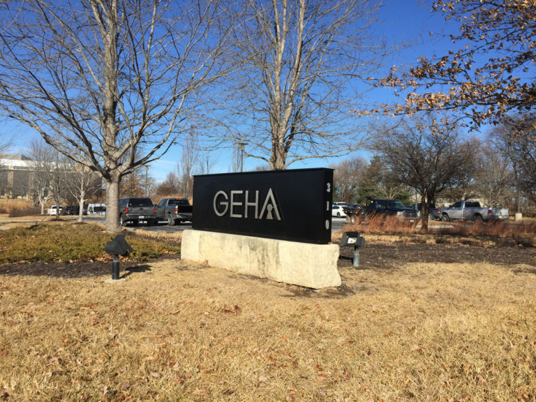 GEHA Monument Signs