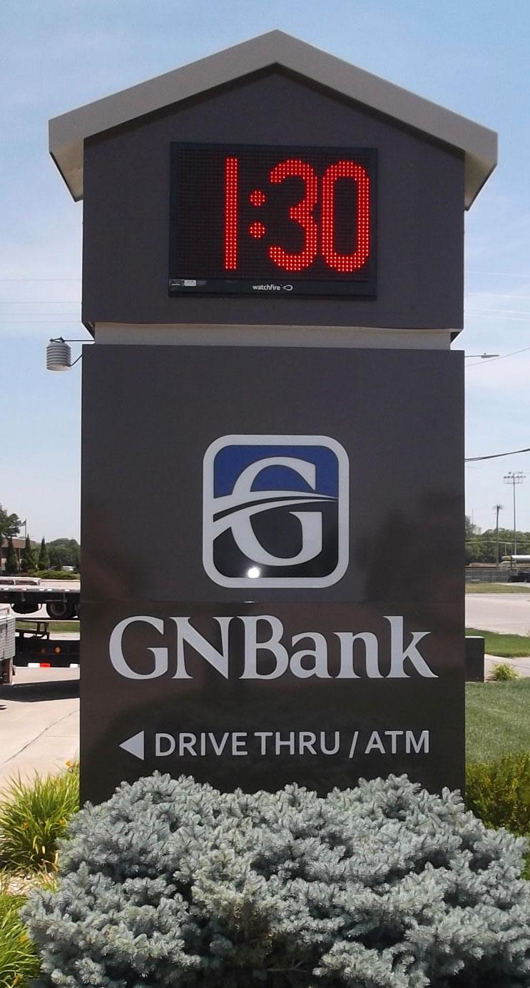 GNBank LED Signs