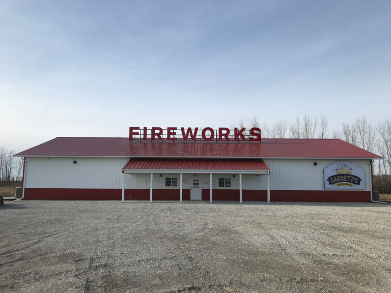 Fireworks Channel Letters