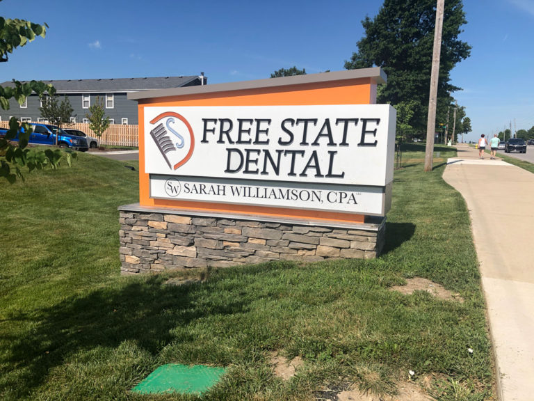 Free State Dental Monument Signs