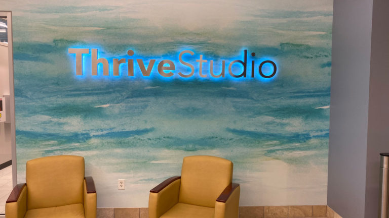 Thrive Studio Channel Letters