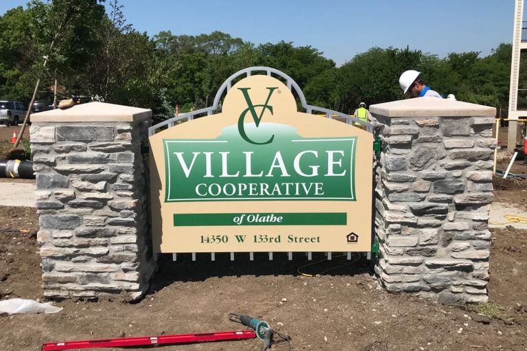 Village Cooperative Monument Signs