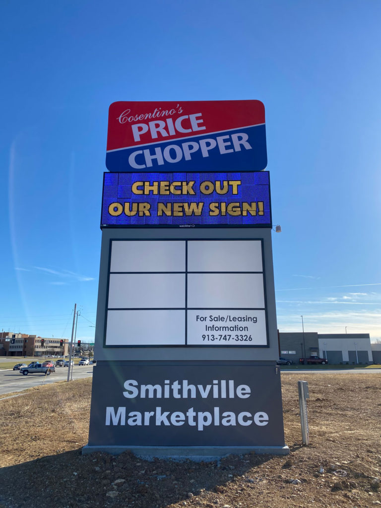 Smithville MarketPlace LED Signs