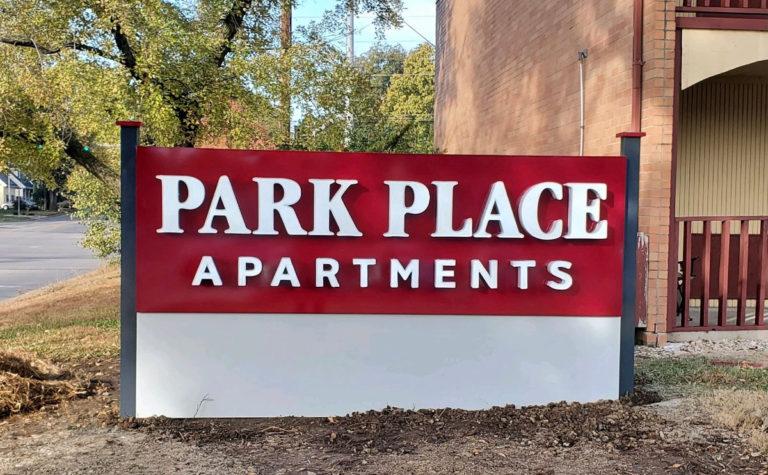 Park Place Apartment Monument Signs