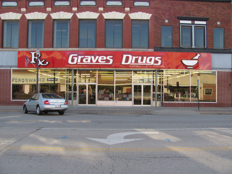 Graves Drugs Wall Signs