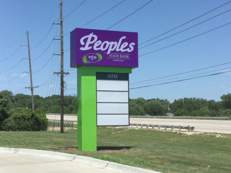 Peoples Pole Signs